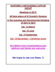 flyer containing meeting dates in 2019